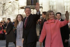 Chelsea Clinton, Bill Clinton, and Hillary Clinton